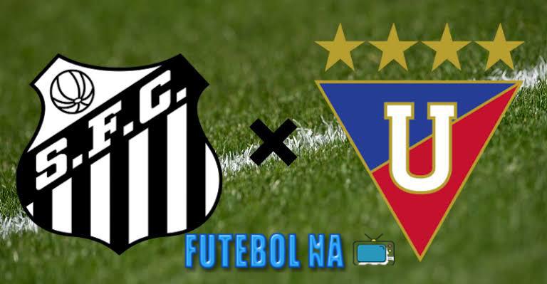 Assistir Santos x LDU ao vivo - Libertadores