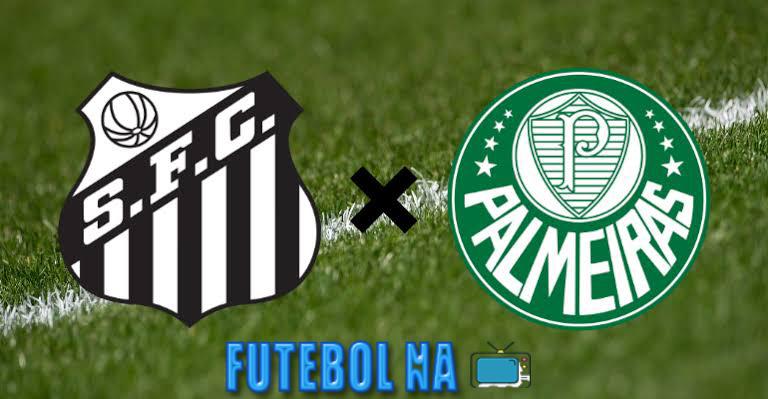 Assistir Santos x Palmeiras ao vivo - Brasileirão 2020