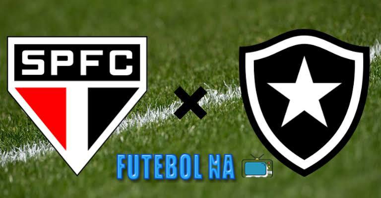 Assistir São Paulo x Botafogo ao vivo - Brasileirão 2020